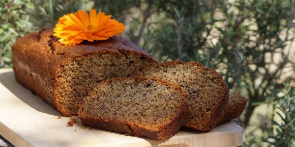 Cake vegan à la banane (et déclinaison en muffins)