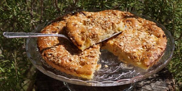 Gâteau «plat» aux fruits -vegan-
