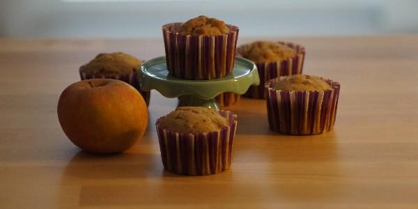 Muffins aux pommes -Vegan-