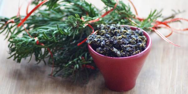Tartare d'algues végétalien (vegan)