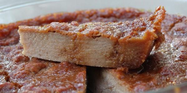 Gâteau au pain «perdu»/rassi végétalien – Vegan
